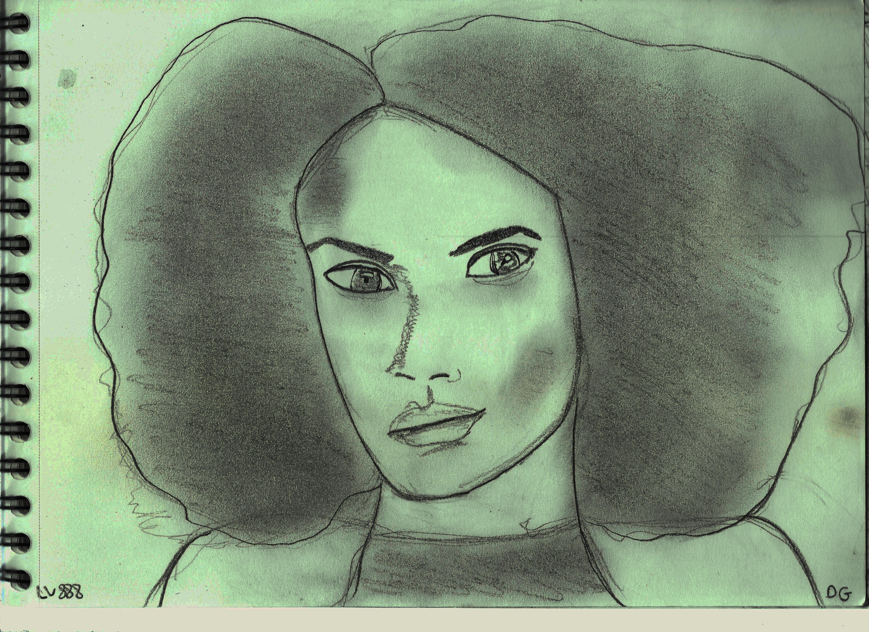 Woman Face Study N133 by lv888