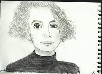 Woman Face Study N134 by lv888