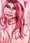 Woman Face Study N135 by lv888