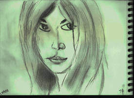 Woman Face Study N136 by lv888