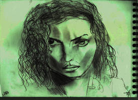 Woman Face Study N138 by lv888