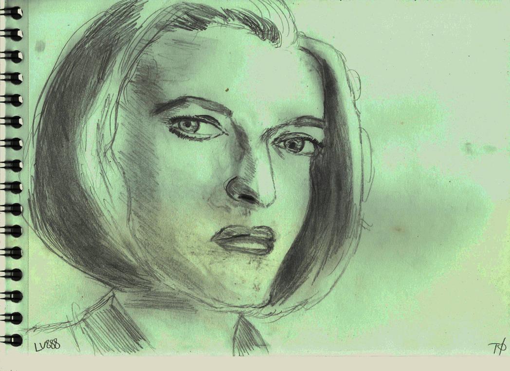 Dana Scully v881 by lv888
