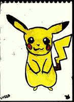 Little Sad Pikachu v881 by lv888