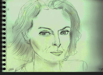 Woman Face Study N140 by lv888