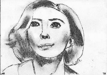 Woman face study n142 by lv888
