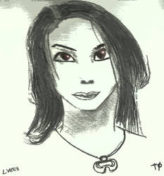 Woman face study n143 by lv888