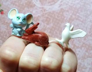 Cute creatures by Meutrien