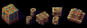 Wooden Cargo by Cyangmou