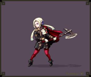 Edelgard - Fire Emblem 16 - Hi-Bit by Cyangmou