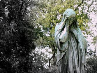 Crying Statue by rafaelcordeiro