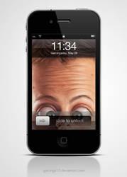 Hello Iphone4 wallpaper by garcinga10