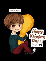 Happy Kkamjong Day by wakaminanako