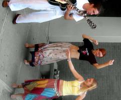 Hippy Dance Rainbow by mercifuldeath616