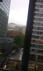 View from my hotel room in Montreal by Hyo38