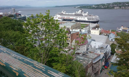 View from upper city of Quebec by Hyo38