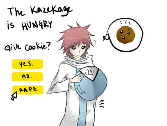 THE KAZEKAGE ISH HUNGRY by YukiGirlFromTheWoods