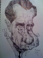 Richard Nixon by cartoonicature93