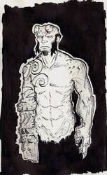 Hellboy by Kalanthes