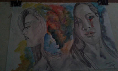 Two Faces by mariglem