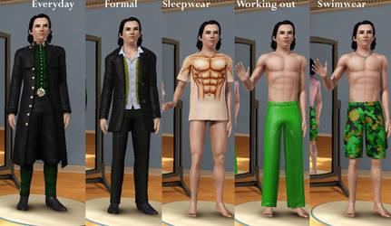 Loki -The sims 3- by ToadSageSannin