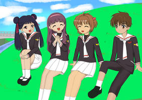Carcaptor Sakura : Quality Time with Friends. by MagatsuReinami