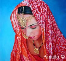 novia hindu by aixado