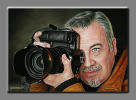 Pedro Leal portrait by aixado