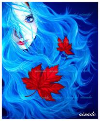 Lady of wind by aixado