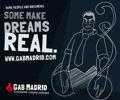 Gab Madrid: Dreamweaver by gabmadrid