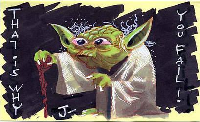 Yoda by sobad-jee