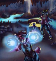 [SEA DOG SHENANIGAN SPOILERS] Treasure hunting by PurpleZombieTigress