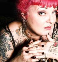 Tschiggy - queen of tattoo by zwerchwerk