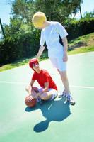 AkaKise - Kuroko No Basket by Junicchi