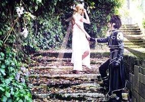 Alfheim Online - Asuna/Kirito by Junicchi