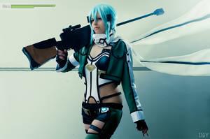 Sinon - Gun Gale Online I by Junicchi