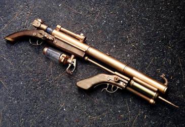 Ion Bridge Lightning Rifle by KingMakerCustoms