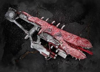 The XT-RA Amalgram Rifle by KingMakerCustoms