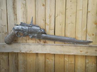 De Lenoir P50R17, or, The Practical Gunblade by KingMakerCustoms
