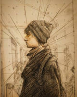 Subway girl by Max-Kneht