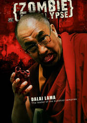 Dalai lama by Aheney