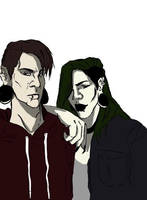 [OC] Ike and Mido by Midoray