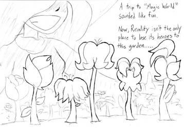 The Witch's Garden by Annie13