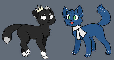Two New Cat Oc's by junetheicecat