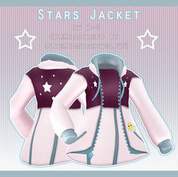 Stars Jacket [ Commission ] by PeachMilk3D