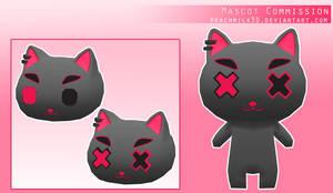 Mascot Commission by PeachMilk3D