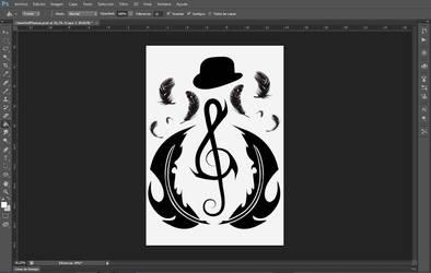Designing my future tattoo... WIP!! by Hath0r