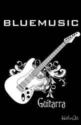 Bluemusic Guitar power by Hath0r