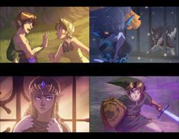 Twilight Princess Movie - Set 1 by Fernosaur