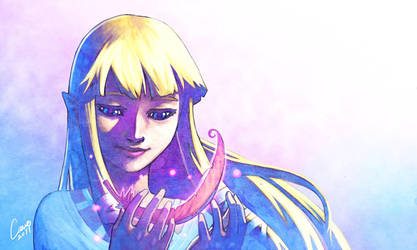 Zelda by Fernosaur