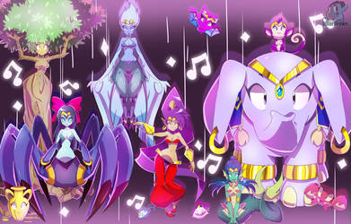 Shantae: Half-Genie Hero TRANSFORM by IzharDraws